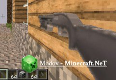 Мод Enemy Soldiers Mod для Minecraft [1.7.2]