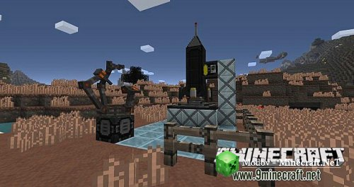 industrial craft 2 текстур пак: