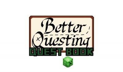Better Questing Quest Book Мод 1.12.2, 1.10.2, 1.7.10