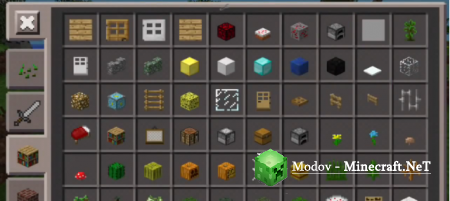 Чит More Creative Items Мод для Minecraft PE 0.10.х, 0.9.х, 0.8.1