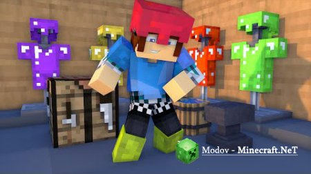 Colorful Armor Мод 1.15.2, 1.14.4, 1.12.2, 1.10.2, 1.9.4, 1.8, 1.7.10, 1.7.2, 1.6.4 и 1.5.2