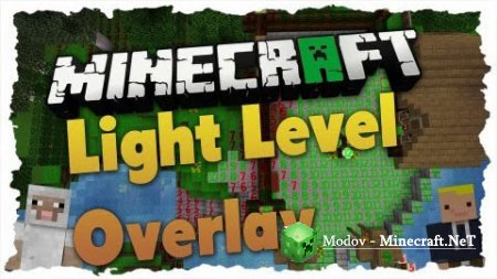 Light Level Overlay Reloaded Мод 1.14.4, 1.13.2, 1.12.2, 1.11.2, 1.10.2, 1.9.4, 1.9, 1.8.9, 1.8, 1.7.10