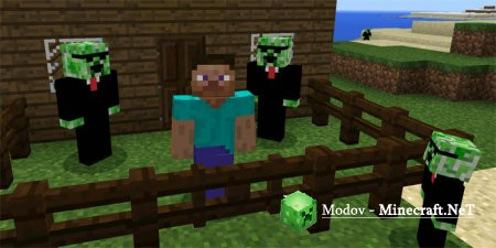 Creeper Friend - Аддон/Мод PE 1.13, 1.12, 1.11, 1.10, 1.9, 1.8, 1.5, 1.4, 1.2, 0.16.0