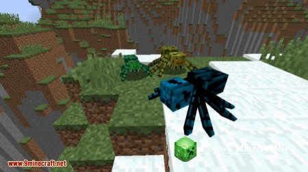 Much More Spiders Reborn Мод 1.12.2, 1.12, 1.11.2, 1.10.2, 1.9.4, 1.8.9