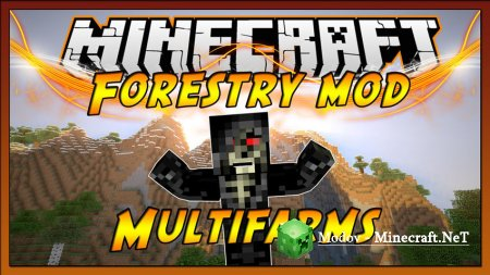 Forestry Мод 1.12.2, 1.12, 1.11.2, 1.10.2, 1.9.4, 1.7.1x, 1.6.4, 1.5.2