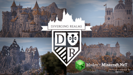 LOROTH – Diverging Realms - Текстура 1.11.2, 1.10.2, 1.9.4