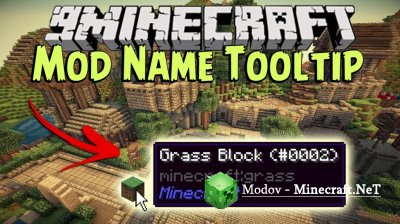 Mod Name Tooltip Мод 1.13.2, 1.12.2, 1.11.2, 1.10.2, 1.9.4, 1.8.9, 1.7.10