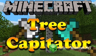 Tree Capitator Мод 1.12.2, 1.11.2, 1.10.2, 1.9.4, 1.8.х, 1.7.х, 1.6.х и 1.5.2