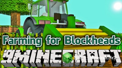 Farming for Blockheads Мод 1.12.2, 1.12, 1.11.2, 1.10.2