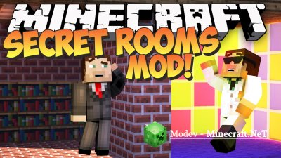 Secret Rooms Мод 1.14.4, 1.12.2, 1.7.10, 1.7.2, 1.6.4 и 1.5.2