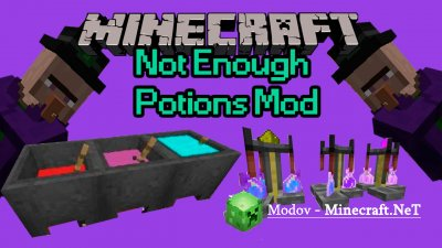 Not Enough Potions Мод 1.11.2, 1.10.2, 1.8.9