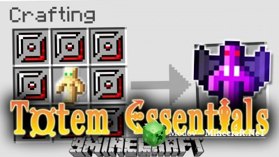 Totem Essentials Мод 1.12.2, 1.12