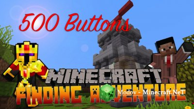 500 Buttons – Finding Adventure - Карта 1.12.2 - 1.12