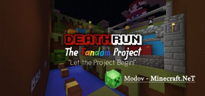 DeathRun: The Snowy Update - Карта PE 1.9, 1.8, 1.7, 1.2