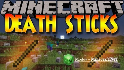 Stick Of Death Мод 1.12.2, 1.11.2, 1.7.10