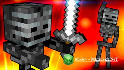 Wither Skeleton Tweaks Мод 1.12.2, 1.12, 1.11.2, 1.10.2