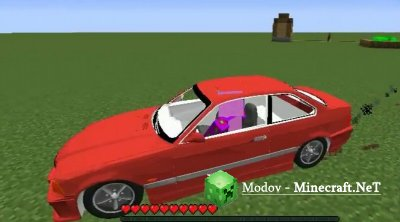 Cars and Engines Мод 1.12.2, 1.12, 1.10.2