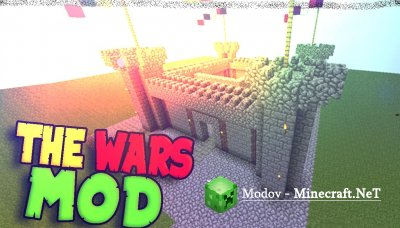The Wars Мод 1.10.2, 1.9.4, 1.8.9, 1.6.4, 1.6.2, 1.5.2