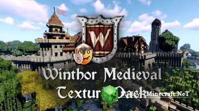 Winthor Medieval - Текстура 1.16, 1.15.2, 1.14.4, 1.13.2, 1.12.2
