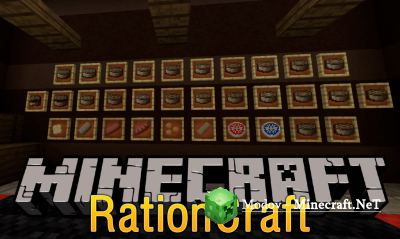 Rationcraft Мод 1.12.2