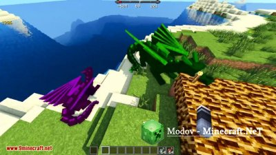 Realm of The Dragons Мод 1.12.2, 1.12, 1.11.2, 1.10.2