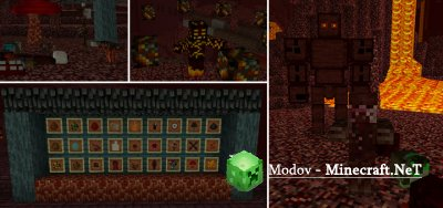Better Nether Аддон/Мод PE 1.8, 1.7, 1.6