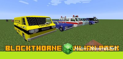BlackThorne Civilian Pack Мод 1.12.2, 1.12, 1.11.2, 1.10.2