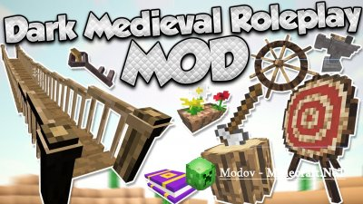 Dark Roleplay Medieval Мод 1.12.2, 1.12, 1.11.2, 1.10.2, 1.9.4, 1.9, 1.8.9