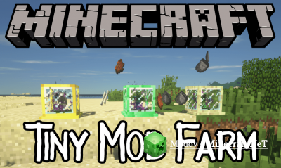 Tiny Mob Farm Мод 1.13.2, 1.12.2 (Мини ферма мобов)