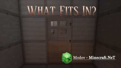 What Fits In? - Карта 1.13.2 (Головоломка)