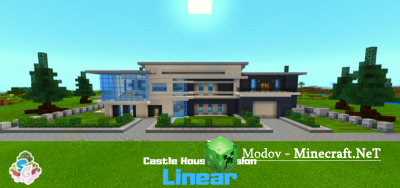 SG Castle House Mansion - Linear - Карта PE 1.10.0, 1.9.0 (Особняк)