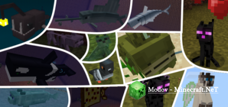 Billey's Mobs Аддон/Мод PE 1.10, 1.9, 1.8