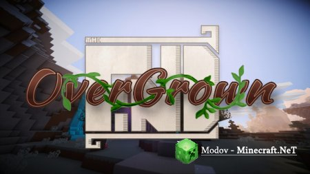 The Find Overgrown - Текстура 1.14.2, 1.13.2, 1.12.2