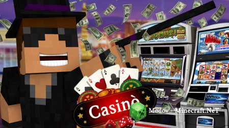 CasinoCraft Мод 1.15.2, 1.14.4, 1.13.2, 1.12.2, 1.10.2, 1.7.10 (Казино)