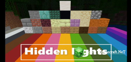 Hidden Lights Аддон/Мод PE 1.12.0.10 - 1.12.0 (Скрытые Огни)
