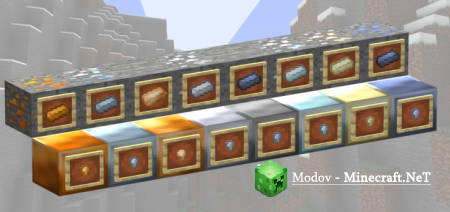 More Ores Аддон/Мод PE 1.13