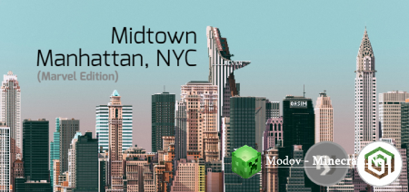 Midtown Manhattan, NYC (Marvel Edition) - Карта PE 1.13, 1.12, 1.11, 1.10