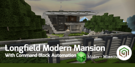 Longfield Modern Mansion – Карта PE 1.13, 1.12, 1.11, 1.10, 1.9