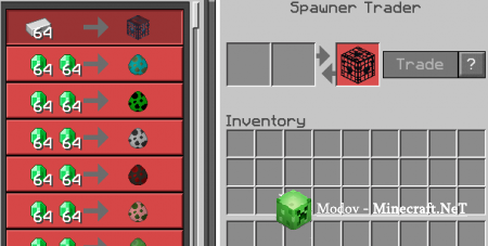 Nitwit Spawner Trader Аддон/Мод PE 1.13, 1.12, 1.11.0, 1.10.0 (Сокровища)