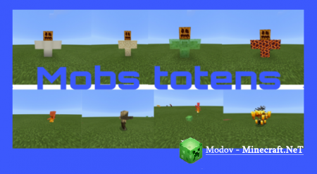 Mobs Totems Аддон/Пакет-Функций PE 1.13, 1.12