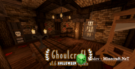 GhoulCraft CIT – Текстура 1.14.2, 1.13.2, 1.12.2