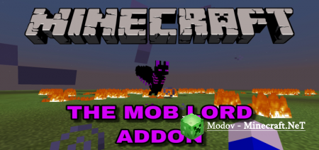 The Mob Lord Аддон/Мод PE 1.13.1, 1.12.1 (Сложный Босс)