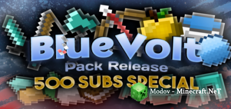 BlueVolt PVP Pack – Текстура PE 1.14, 1.13, 1.12