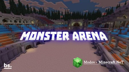 Monster Arena – Карта PE 1.14, 1.13, 1.12