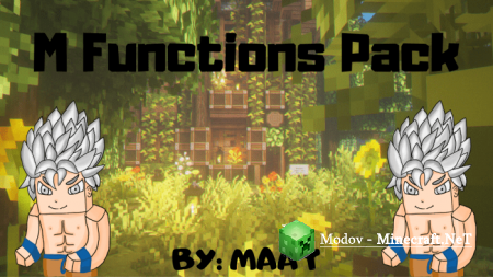 M Functions Pack v1.1.7 Аддон/Мод PE 1.15, 1.14, 1.13