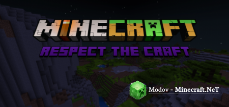 Respect the Craft: A Tweak and Alternative Textures Pack – Текстура PE 1.14