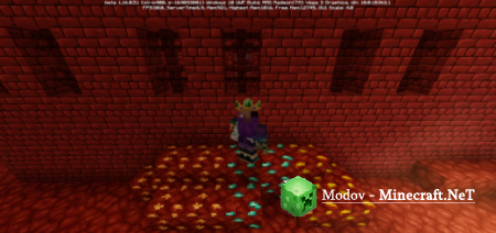 Liveable Nether Аддон/Мод PE 1.16