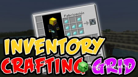 Inventory Crafting Grid Мод 1.15.2, 1.12.2, 1.10.2, 1.8.9, 1.8 и 1.7.10