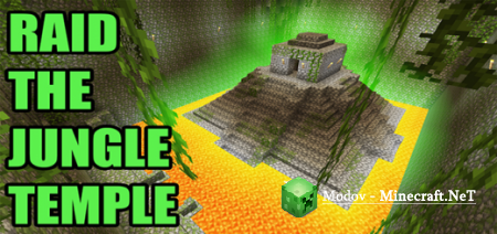 Raid The Jungle Temple! – Карта PE 1.16, 1.15, 1.14, 1.13, 1.12, 1.11, 1.10