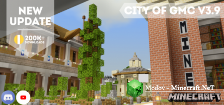 City of GMC V3.9 – Карта PE 1.16, 1.15, 1.14